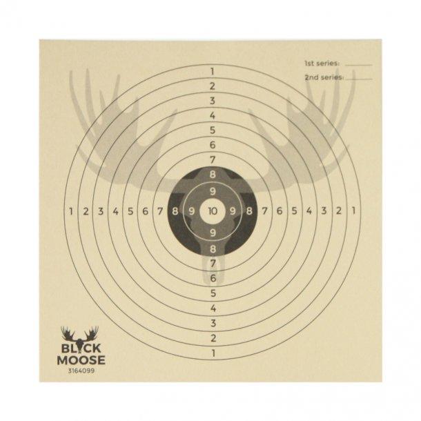 Black Moose - Tavlor 10-Ringe Skydeskiver