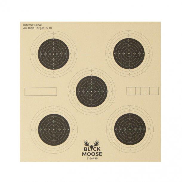 Black Moose - Tavlor Skydeskive med 5 Mål