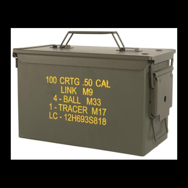 Mil-Tec - US M2A1 CAL. 50 Stål Ammunitionskasse