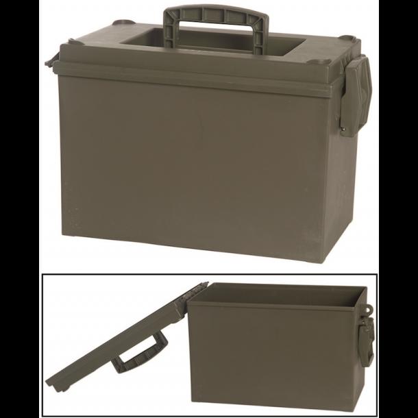 Mil-Tec - US OD CAL.20 PVC Ammunitionskasse