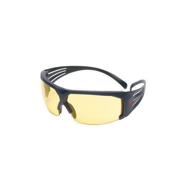 3M - SecureFit 600 Skydebriller m. Anti-Dug