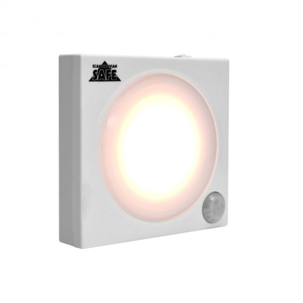 Scandinavian Safe - LED Lampe Til Våbenskab Med Sensor