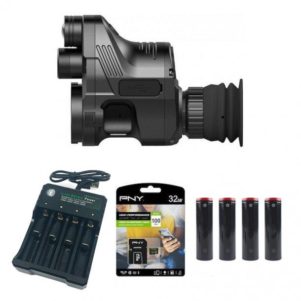 Pard - NV007A Natkikkert inkl. SD-kort, Oplader og 4 batterier
