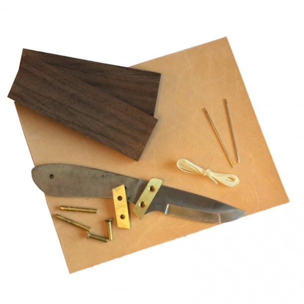 Knivbyggesæt 2 - Fuldtang Kniv