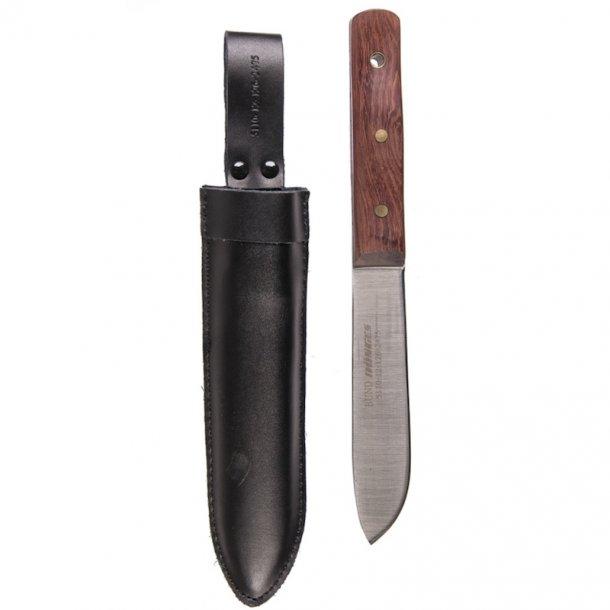Linder - Sejlerkniv med læderskede