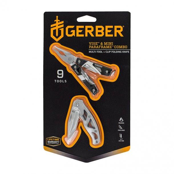Gerber - Vise + Mini Paraframe Combopack