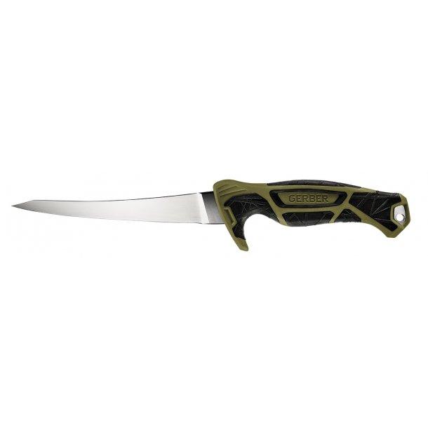 Gerber - Controller Fileteringskniv med Strygestål 6