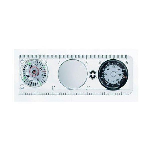 Victorinox - Lineal kompas m. lup og termometer