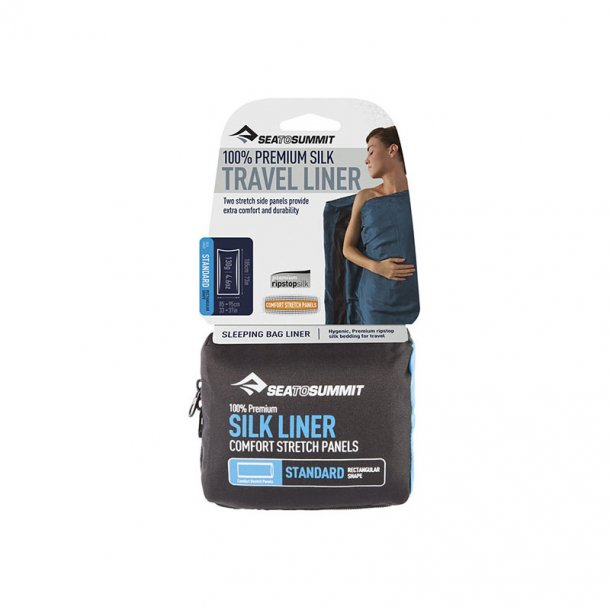 Sea to Summit - Premium Silk Liner Traveller m. Pillow Insert Lagenpose