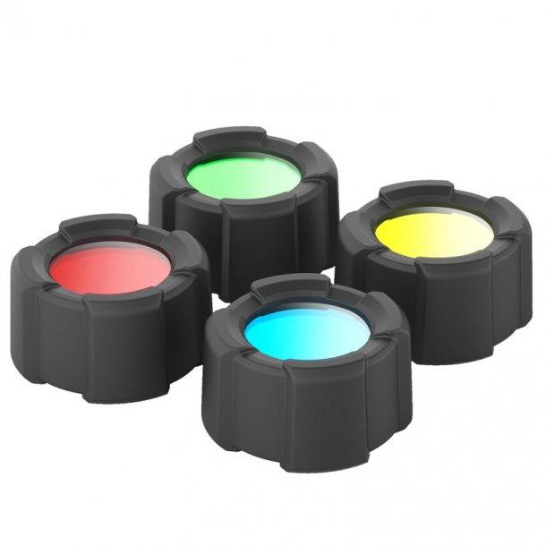 LED LENSER - Color Filter Set 32,5 mm til MT10