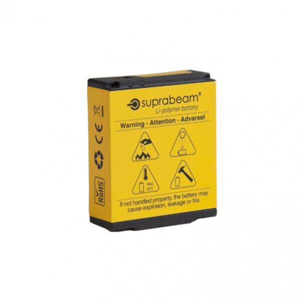 Suprabeam - Genopladelig Li-Polymer 2800 mAh Batteri