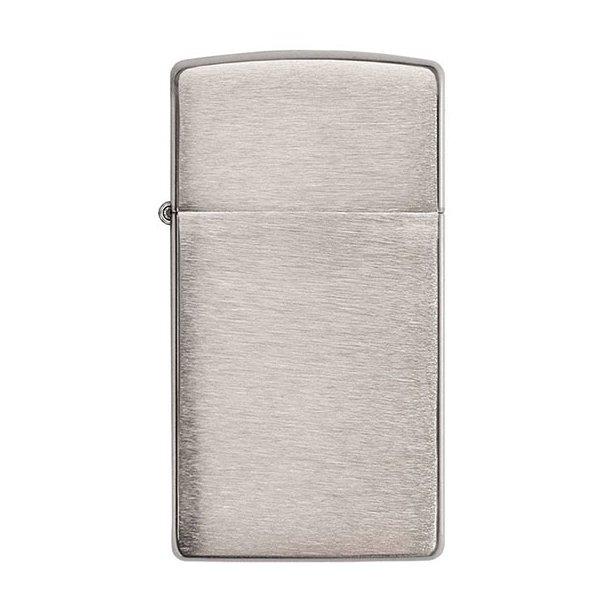 Zippo - Slim Brushed Chrome Lighter
