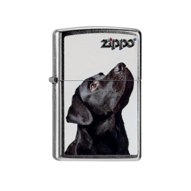 Zippo - Sort Labrador Lighter