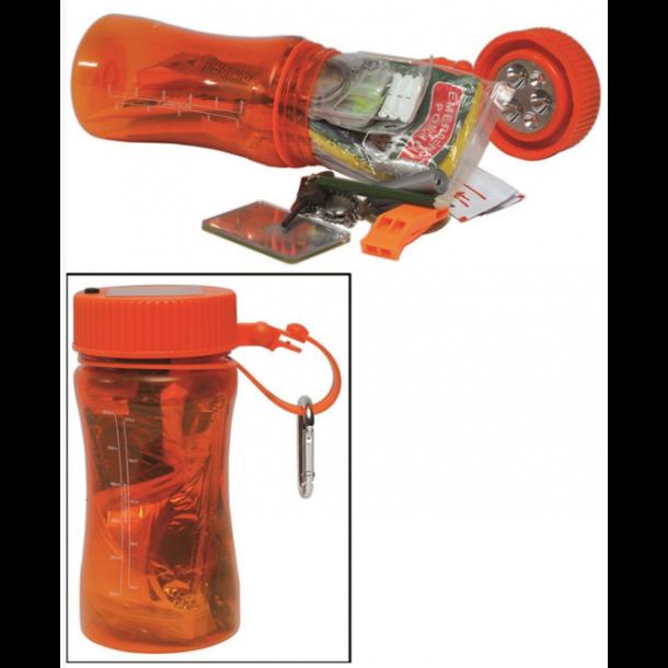 Mil-Tec - Orange Outdoor Survival Kit