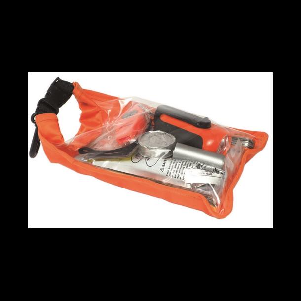 Mil-Tec - Survival Kit i vandtæt pose (stor)