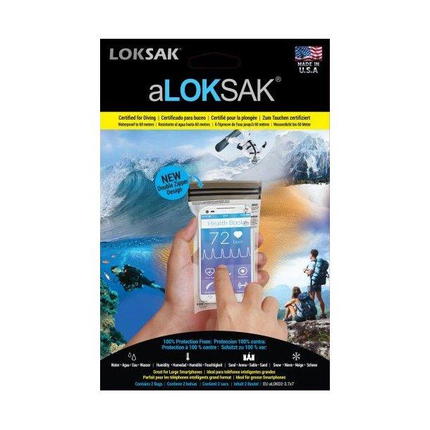 aLOKSAK - Vandtætte Poser, Small (2-pak)
