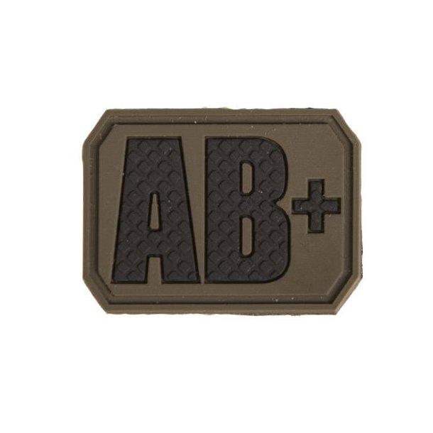 Mil-Tec - AB Positiv Blodtype 3D Patch
