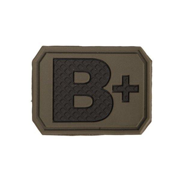 Mil-Tec - B Positiv Blodtype 3D Patch
