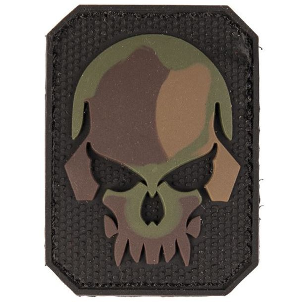 Mil-Tec - 3D Skull PVC Patch (6x4,5 cm)