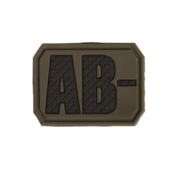 Mil-Tec - AB Negativ Blodtype 3D Patch