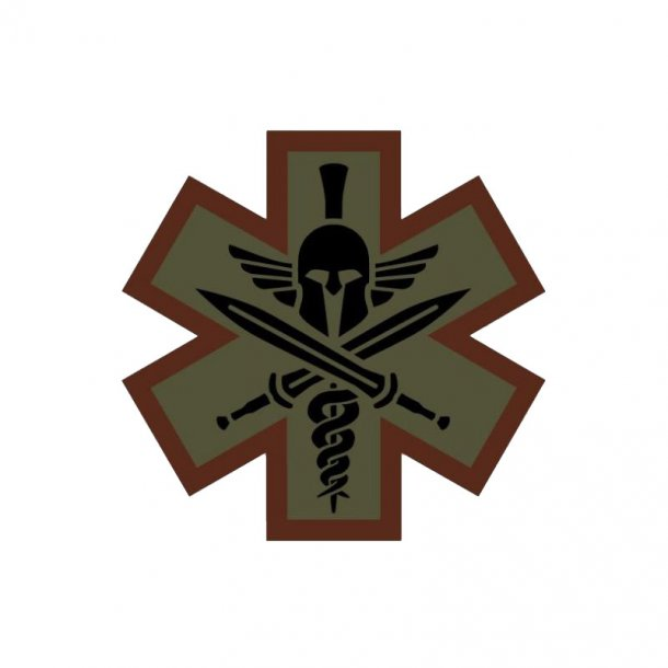 Mil-Spec Monkey - Tactical Medic Spartan Patch