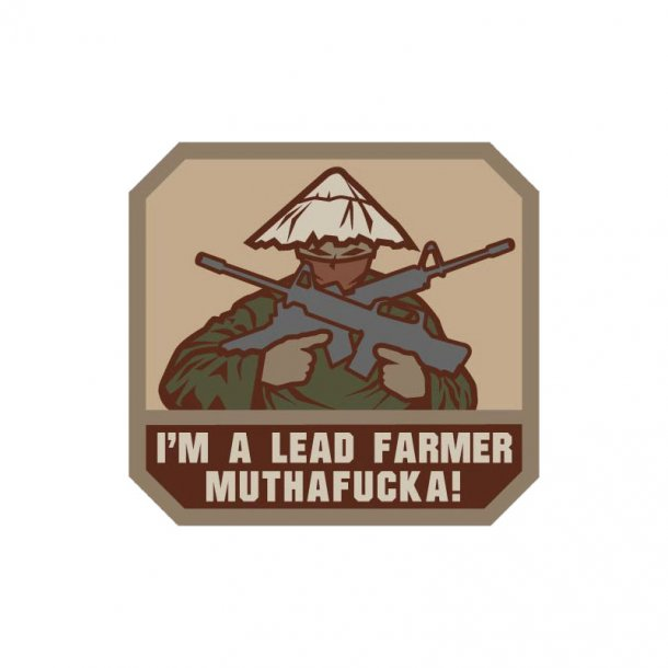 Mil-Spec Monkey - Lead Farmer Patch