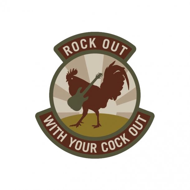 Mil-Spec Monkey - Rock Out Patch
