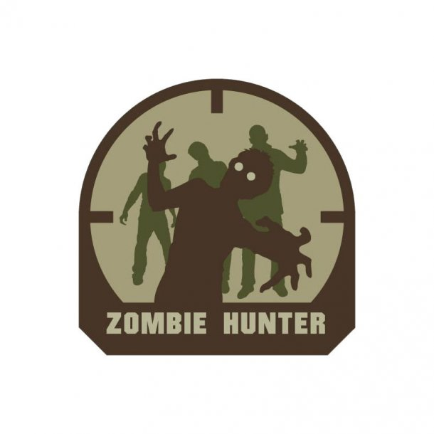 Mil-Spec Monkey - Zombie Hunter PVC Patch