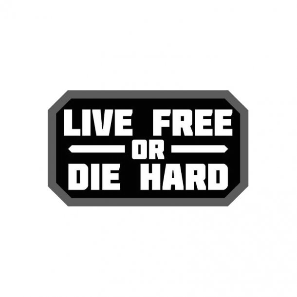 Mil-Spec Monkey - Live Free or Die Hard Patch