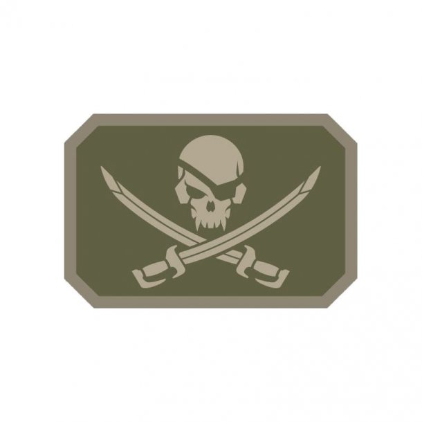 Mil-Spec Monkey - Pirateskull PVC Patch