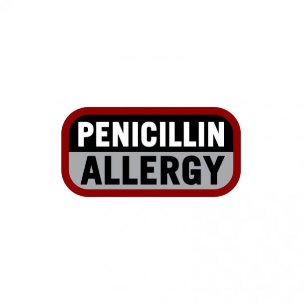 Mil-Spec Monkey - Penicillin Allergi Patch