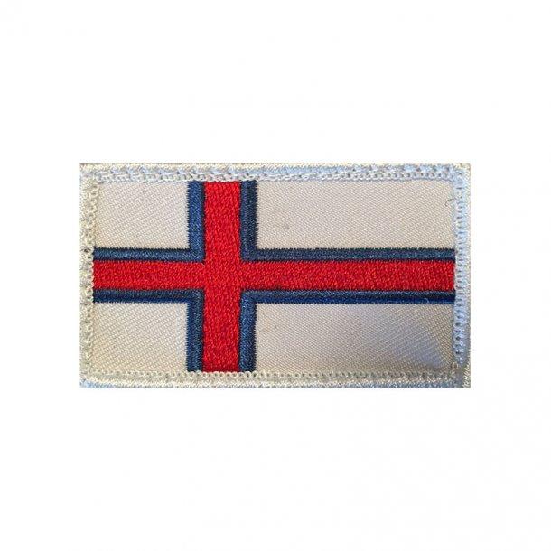 Færøsk Flag (Velcro)