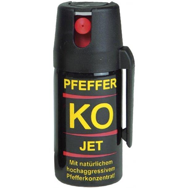 KO-Defense - Peberspray Jetstråle (40 ml.)