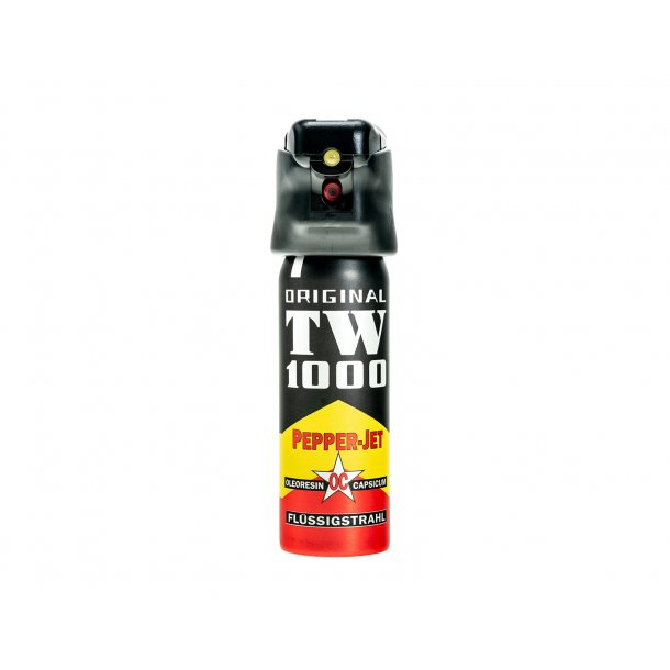 TW1000 - Peberspray Jetstråle m. LED (63 ml.) (Afhentning i Viby J)