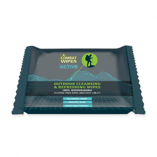 Combat Wipes - Active Renseservietter