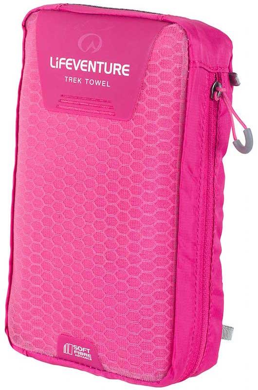 Billede af Lifeventure - Soft Fibre Trek Håndklæder XL Pink