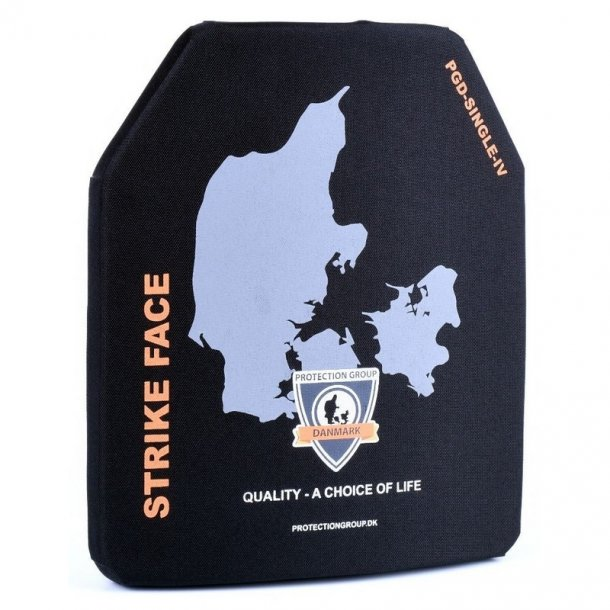 Protection Group - Traumeplade NIJ level 4 SA Single Curve