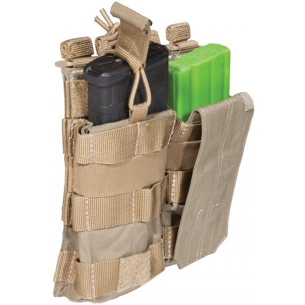 5.11 - Double AR Mag Pouch m. Bungee/Cover