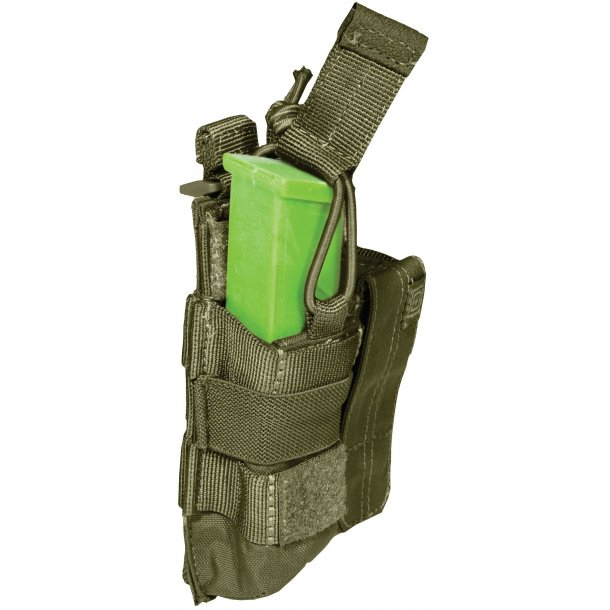5.11 - Double Pistol Mag Pouch, Bungee cover