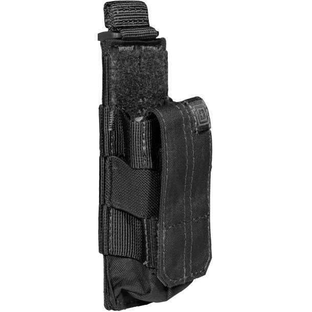 5.11 - Single Pistol Mag Pouch, Bungee cover