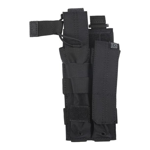 5.11 - Double MP5 Mag Pouch m. Bungee/Cover