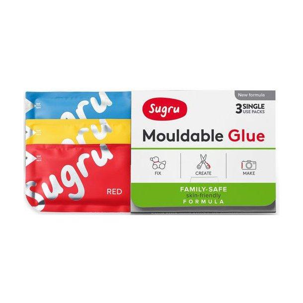 Sugru - Formbar Silikone-Gummi Lim (3-Pak)