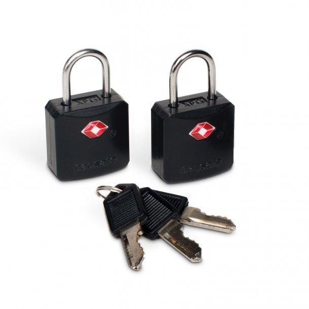 Pacsafe - Prosafe 620 TSA Hængelås (2 pak)