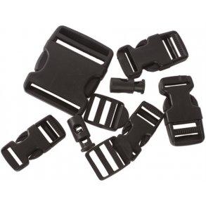 Tilbehør til tasker Køb rygsækovertræk, taskelås