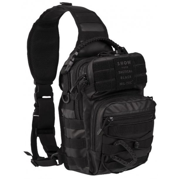 Mil-Tec - One Strap Assault Pack Small Tactical Black