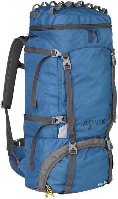Asivik – Hiker 2.1 50 liter Børnerygsæk Blå