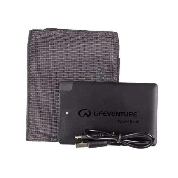 Lifeventure - RFID Pung Med Powerbank