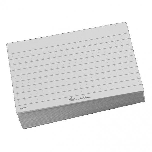 Rite in the Rain - Index Card Papir (100 ark)