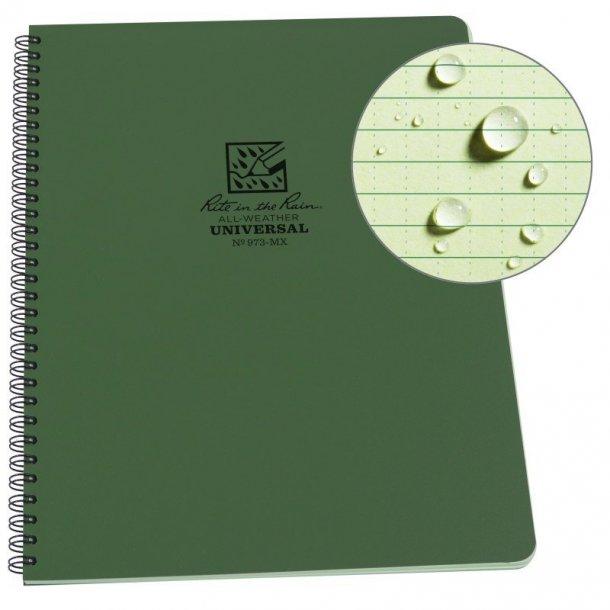 Rite in the Rain - Maxi Side Spiral Notebook (22,3 x 29 cm)