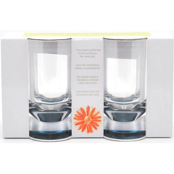 Flamefield - Akrylplast Vandglas Slim Jim 30 cl. (4-pak)